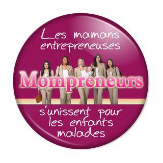 Mompreneurs-sticker